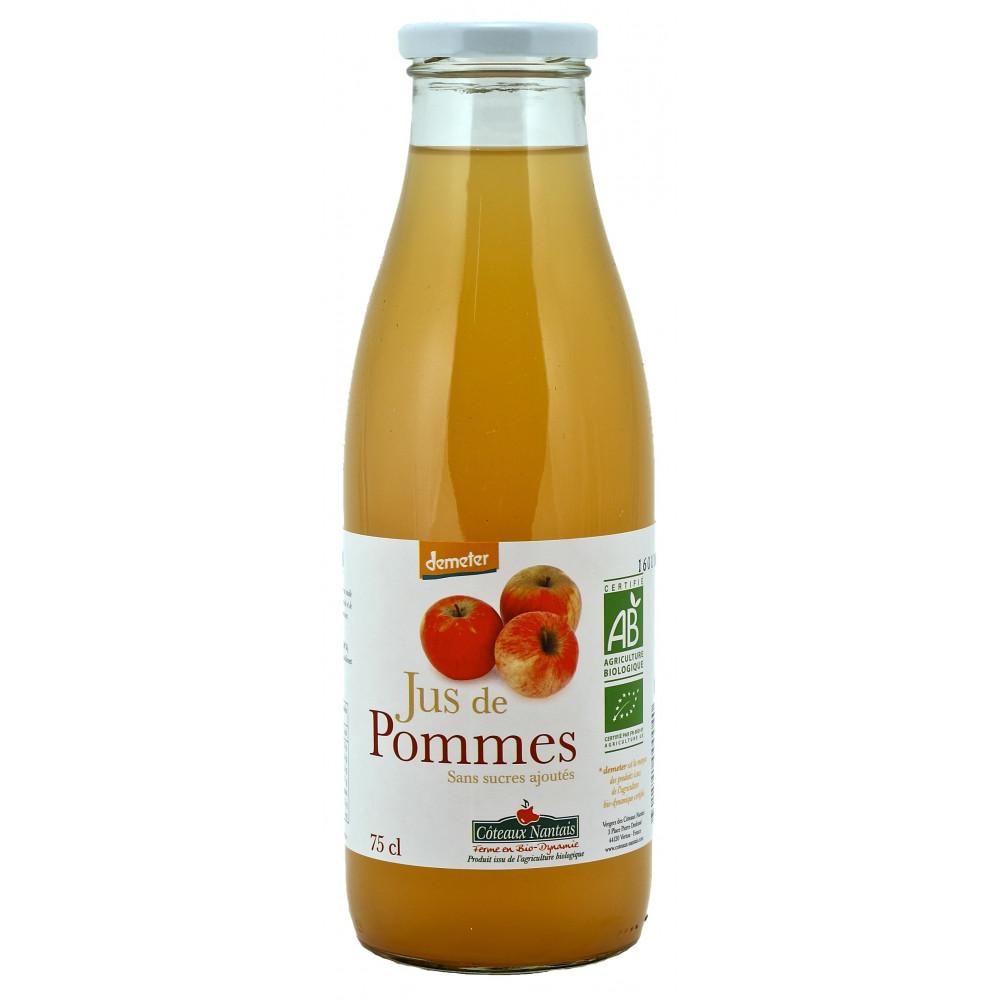 Jus de pommes 75cl boisson bio course en ligne cashbio - Jus de pomme extracteur vapeur ...