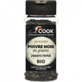 Poivre noi en grains bio Cook - 50g
