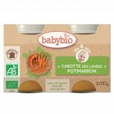 Petits pots aux carottes et potimarrons 2x130g