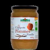 Compote de pomme vanille - 660g