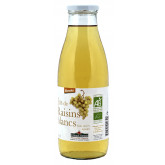 Jus de fruits bio aux raisins blancs 75cl
