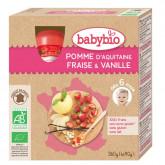 Gourde pomme fraise vanille - dès 12 mois