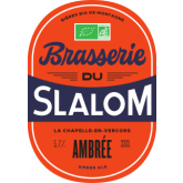 Bière ambrée Slalom - 75cl