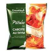 Chips bio de légumes à la carotte et au thym, pour l'apéritif 70g