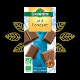 Chocolat lait fondant Bonneterre - 100g
