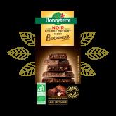 Chocolat noir façon brownie Bonneterre - 100g