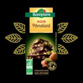 Chocolat noir mendiant Bonneterre - 100g