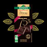 Chocolat noir 75% Pérou Bonneterre - 80g