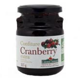 Confiture de cranberries bio 325g