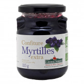 Confiture de myrtilles - 325g