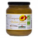 Compote pêches jaunes - 725g