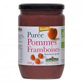 Purée pommes framboises - 630g