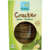 Crackers au basilic 100gr