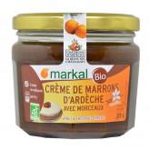 Crème de marrons d'ardèche avec morceau vanillée