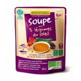 Soupe 5 légumes du soleil - 50cl