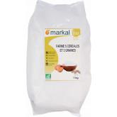 Farine bio aux 5 céréales et 3 graines - 1kg