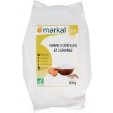 Farine 5 céréales et 3 graines