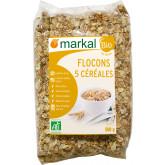 Flocons 5 céréales - 500g