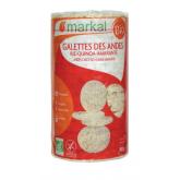 Galettes de riz bio saveurs des Andes - 100g