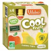 Cool fruit pomme poire - 4x90g