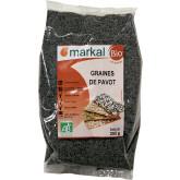 Graines de pavot bio - 250g