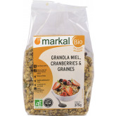 Granola cranberries & graines - 375g