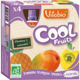 Cool fruit pomme mangue ananas - 4x90g