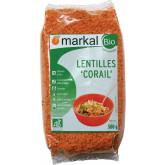 Lentilles corails bio - 500g