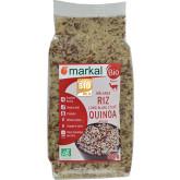 Mélange quinoa rouge et riz - 500g