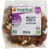 Mélange apéritif fruits secs bio - 250g