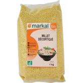 Céréales millet décortiqué bio en sachet de 1kg