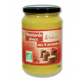 Moutarde douces aromates - 370g