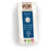 tablette de chocolat noir à 80% de cacao Ecuador