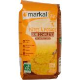 Pâtes à potage bio demi complètes - 500g