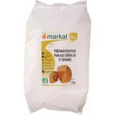 Farine préparation pain aux céréales et graines bio 1kg