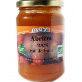 Purée de fruits bio à l'abricot