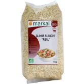 Céréale bio quinoa real blanche - 1kg