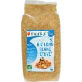Riz long blanc étuvé - 1kg
