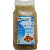 Riz bio long complet Indica Italien - 500g