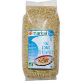 Riz italien bio long demi complet - 1kg
