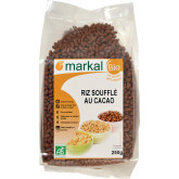 Riz bio soufflé au cacao - 250g
