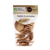 Biscuits bio sablés aux 4 céréales