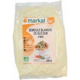 Semoule de blé blanche bio fine - 500g