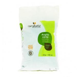 Argile verte granulée Argiletz - 3kg