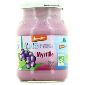 Yaourt myrtille - 500g