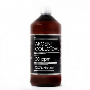 Argent Colloidal 20ppm - 1L