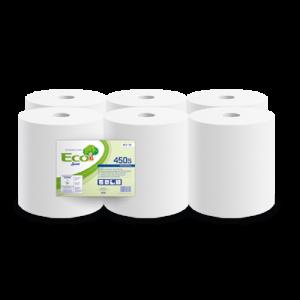 Bobines industrielles Eco Lucart, 40 serviettes
