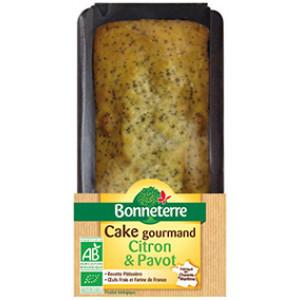 Cake gourmand citron et pavot 250gr