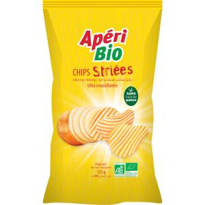 Chips striées - 125g
