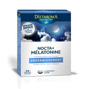 Nocta + mélatonine Dietaroma - 40 comprimés